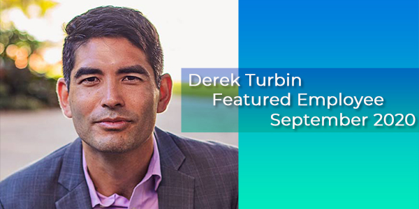 Derek Turbin, Gilson Daub Featured Employee, September 2020